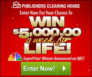 Win $5,000 a Week for Life