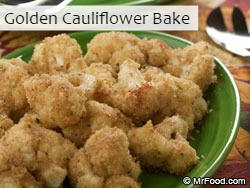 Golden Cauliflower Bake