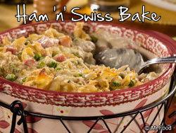 Ham 'n' Swiss Bake