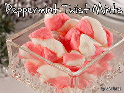 Peppermint Twist Mints