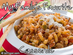 My Family's Favorite Casserole